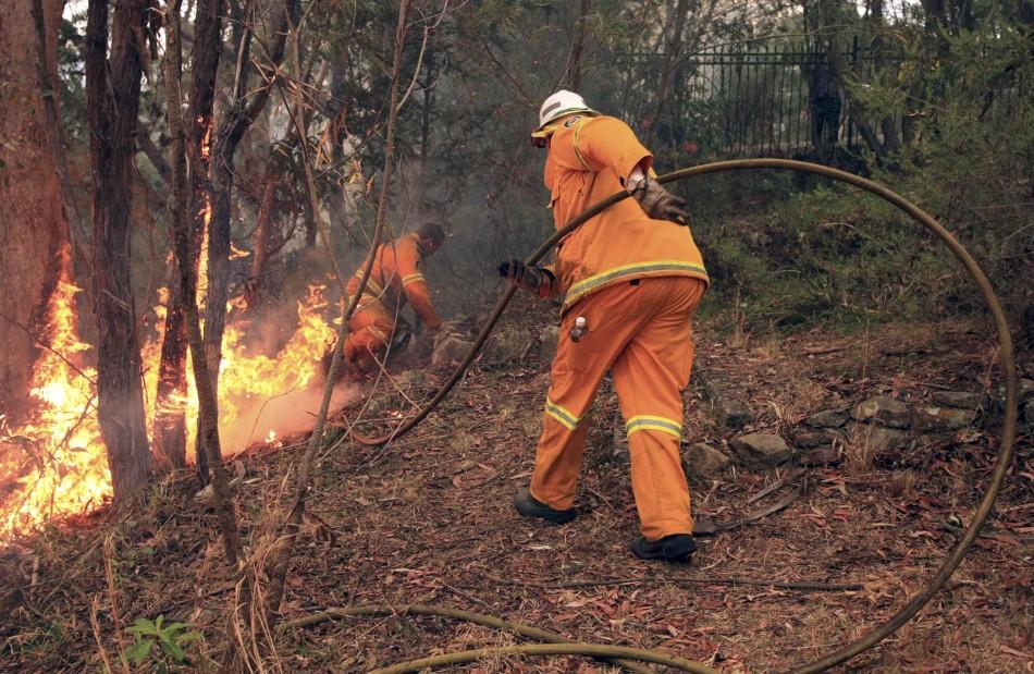 Australia NSW bushfire
