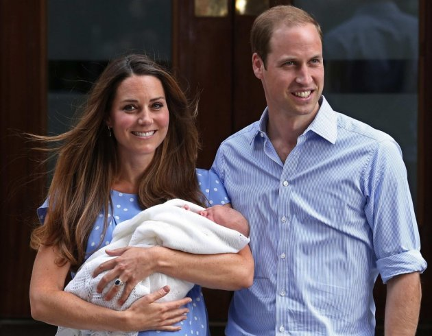 Prince George is due to be christened at the Chapel Royal on 23 October. (Photo: Reuters)