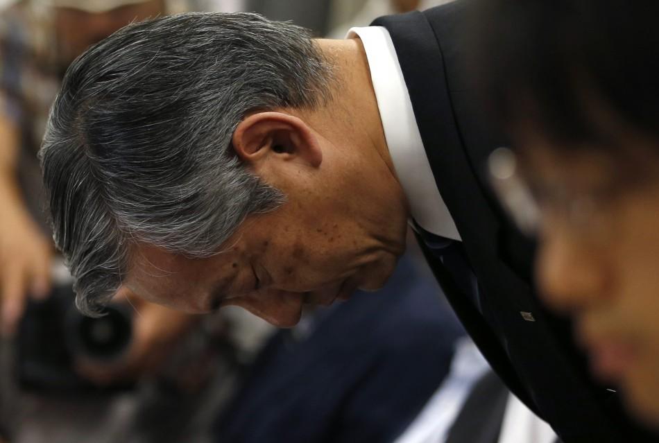 Mizuho Financial Group Deputy President Toshitsugu