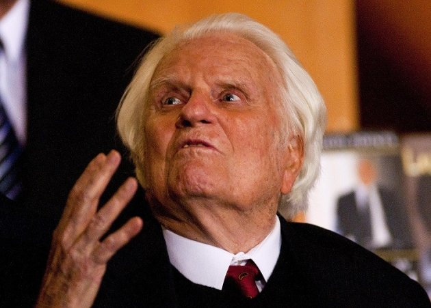 Billy Graham predicts the Rapture is coming with the return of Christ to Earth, soon PIC: Reuters