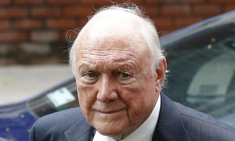Stuart Hall was jailed after admitting indecently assaulting 13 girls (Reuters)