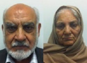 Ilyas Ashar and wife Tallat have both been jailed for trafficking the girl from Pakistan when she was 10 (GMP)