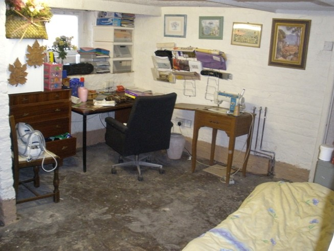 The cellar where the victim was forced to sleep for nearly a decade (GMP)