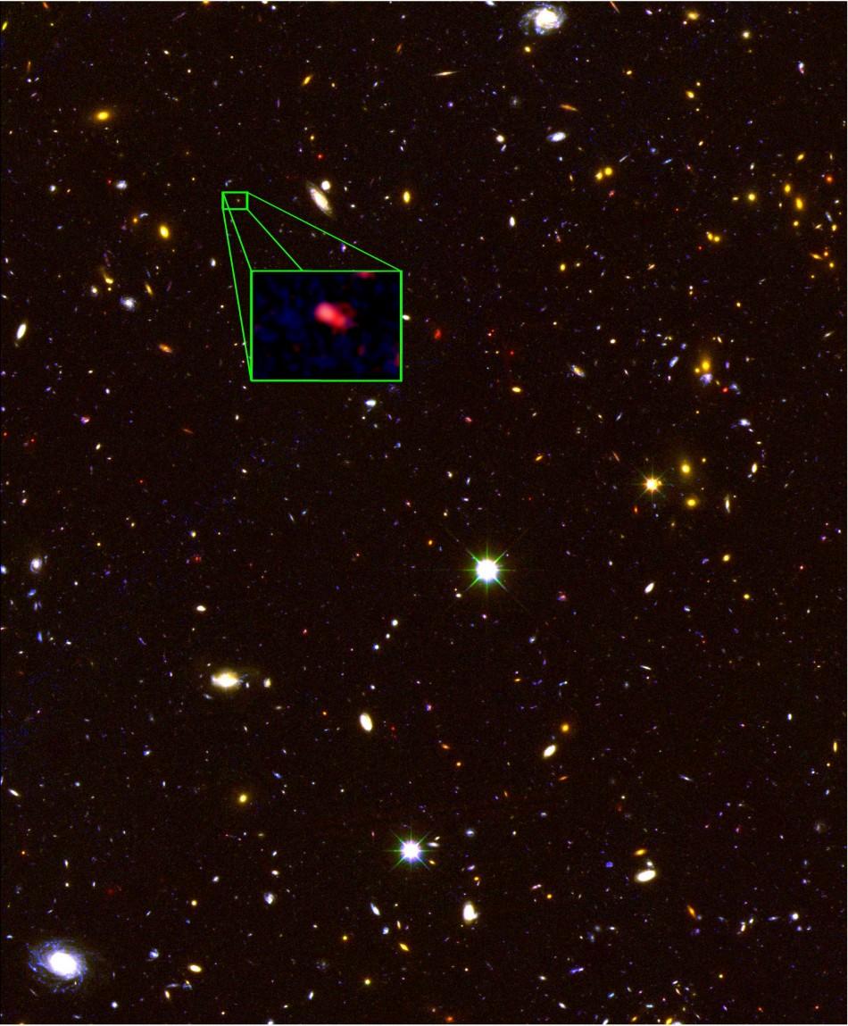 Furthest away galaxy
