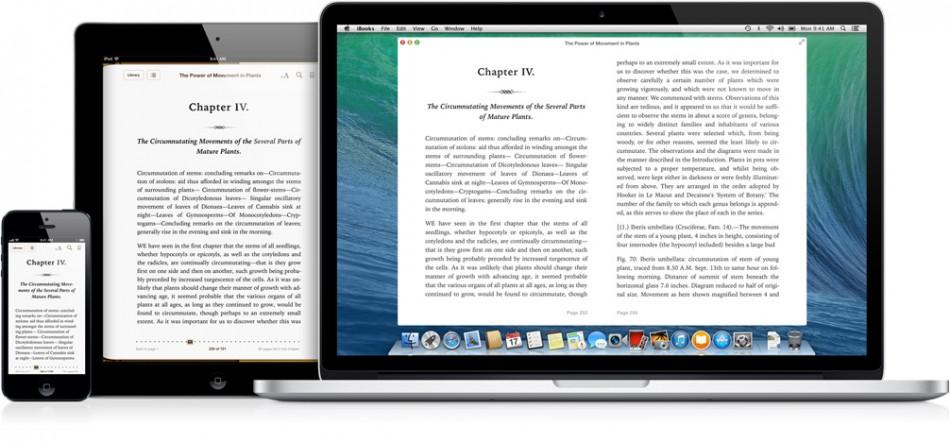 OS X Mavericks iBooks