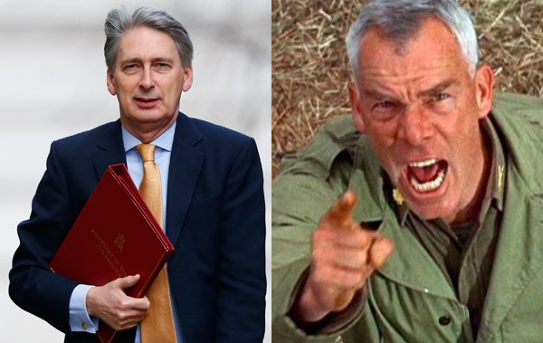 Philip Hammond is Like Lee Marvin