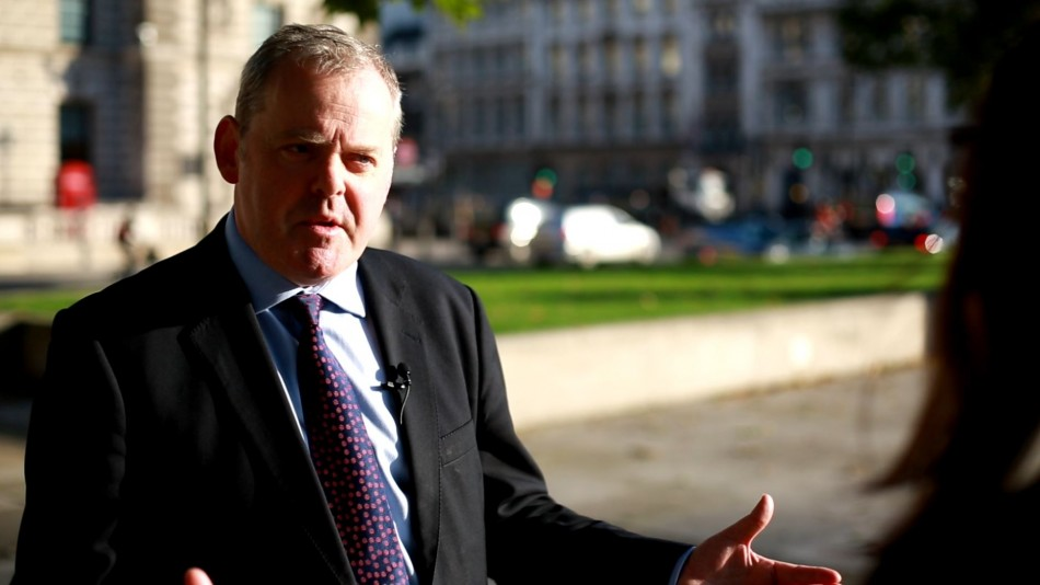 Guto Bebb MP speaks to IBTimes UK about the mis-selling derivatives scandal (Photo: IBTimes UK)