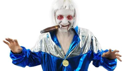 Jimmy Savile Halloween costume
