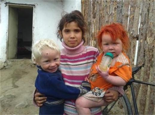 Bulgaria roma blonde