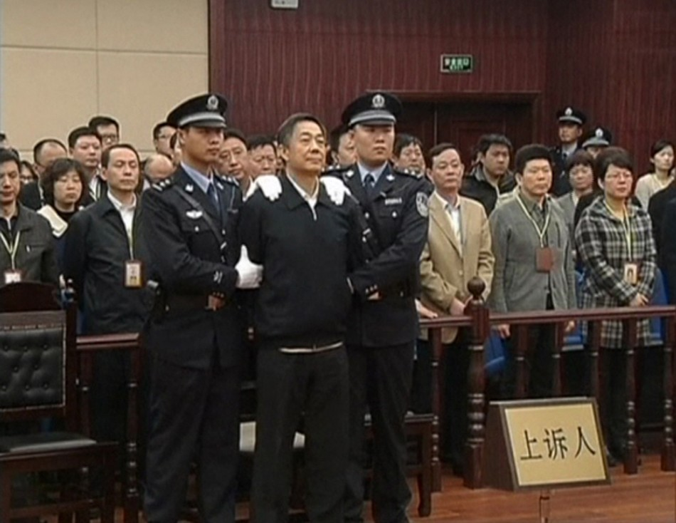 China court rejects Bo Xilai's appeal