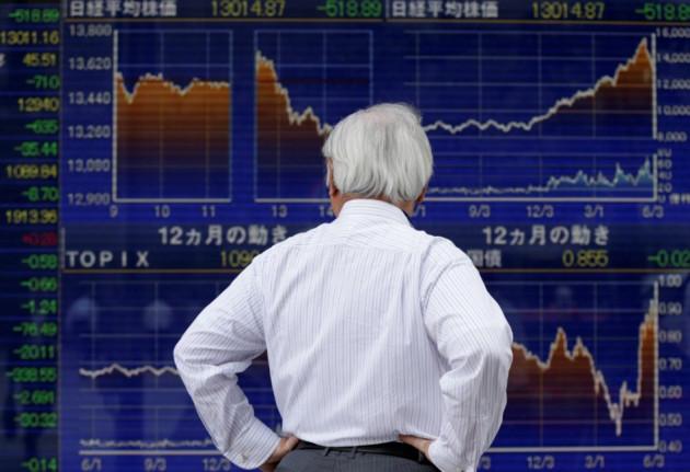 Asian markets outside Australia trade lower on 25 October