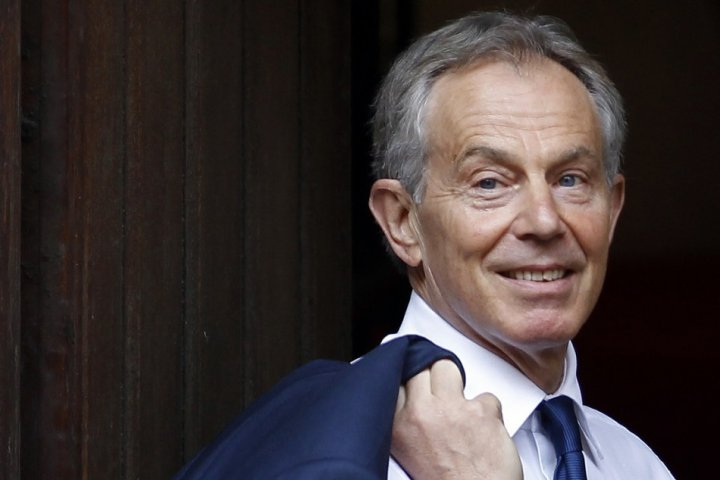 Tony Blair has written a foreword for Alistair Campbell's new book about the Good Friday Agreement PIC: Reuters