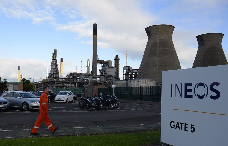 Workers at the Grangemouth plant owned by Ineoes have a more certain future now PIC: Reuters