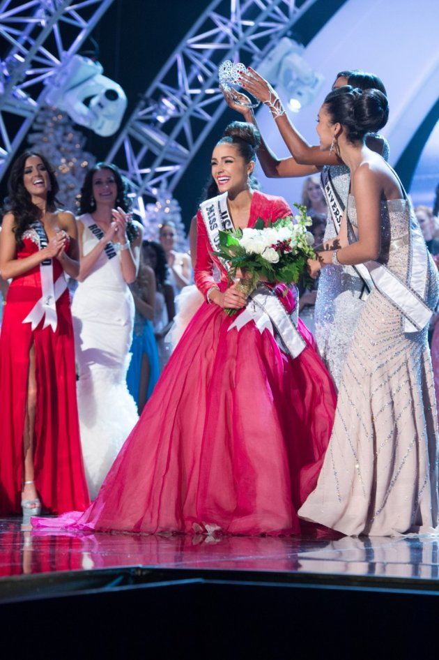 Miss Universe 2012,Olivia Culpo of USA will crown her successor at the conclusion of the two-hour telecast on the 9 November[missuniverse.com]