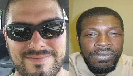 Allen Morgan (L) has admitted to plotting to kill registered sex offender Clifford Mosley (Facebook/HomeFacts)
