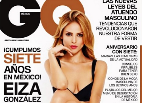 Eiza Gonzalez covers the Mexican GQ (Instagram/Eiza Gonzalez)