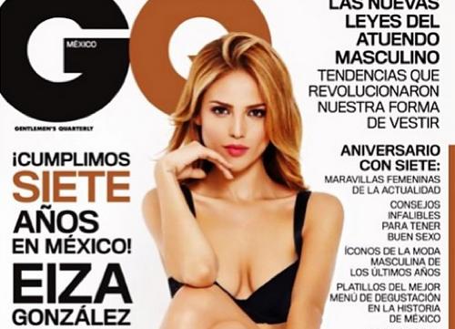 Eiza Gonzalez covers the Mexican GQ (Instagram/Eiza Gonzalez)