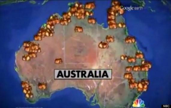 Australian Bushfires: NBC Ridiculed over Apocalypse Inferno Map