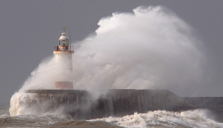 Winds are expected to reach as high as 80 m/ph when the storm hits Brittan (Reuters)