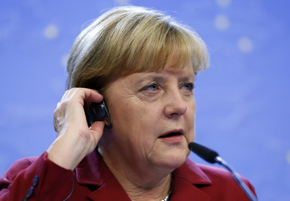 Germany's Chancellor Angela