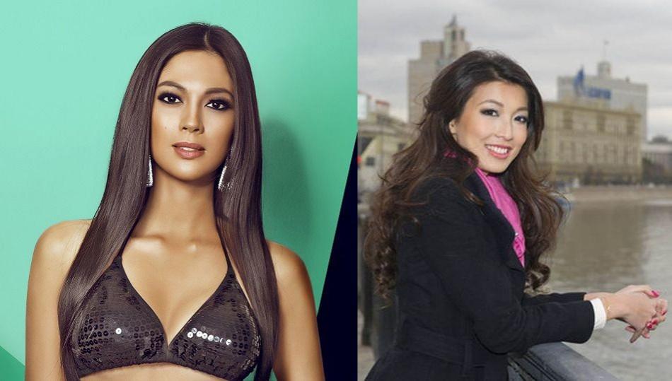 Miss Universe 2013 Philippines, Ariella Arida (L) and Miss Universe 2013, Myanmar, Moe Set Wine. (Photo: MIss Universe Organization L.P., LLLP)