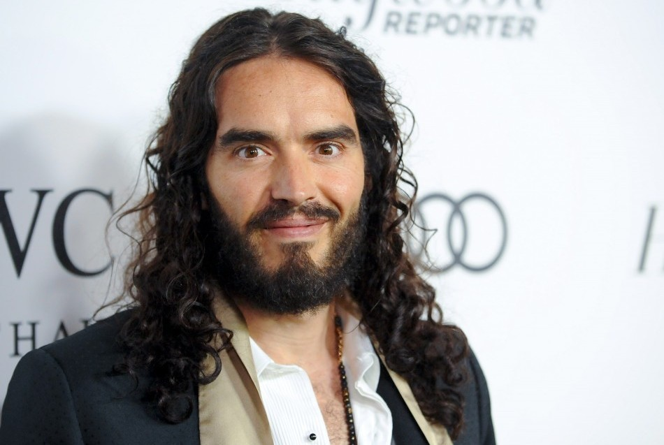 Russell Brand predicts political revolution