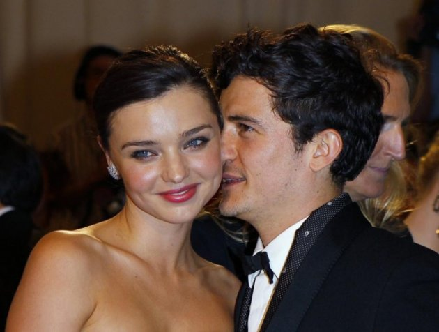 Now Ex-Couple: Miranda Kerr and Orlando Bloom