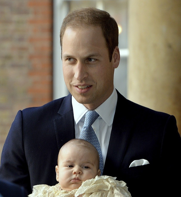 Prince William and son Prince George