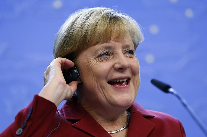 Merkel accused the US of an unacceptable breach of trust on Thursday after allegations that her personal mobile phone was bugged..