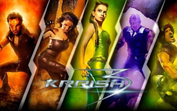 Mutant Villains in Krrish 3