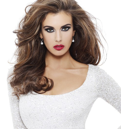 Erin Brady, the American beauty with brains is also emerging as the prominent runner for the Miss Universe title  [Missuniverse.com]