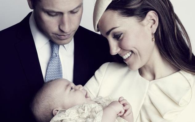 The Most Intimate Royal christening portrait Revealed JASON BELL/CAMERA PRESS