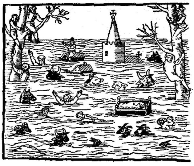 1607 Bristol floods