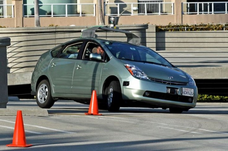 Google driverless car accident