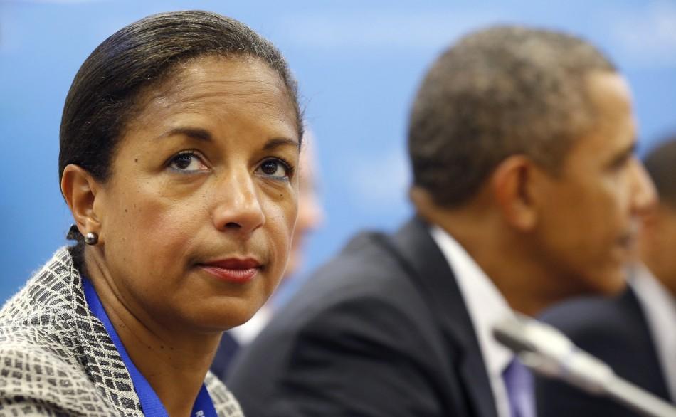 US National Security Adviser Susan Rice