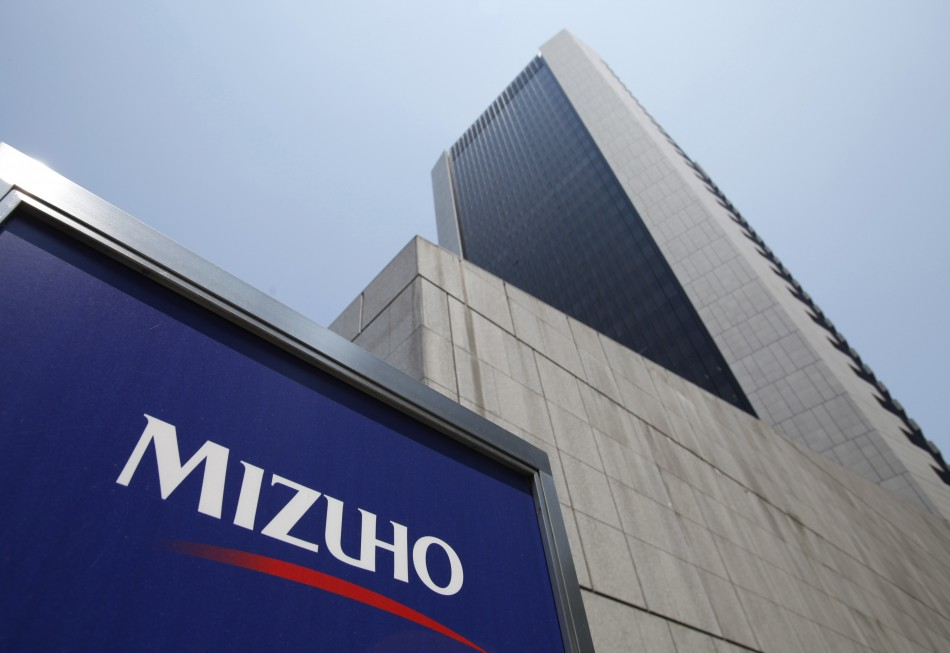 Mizuho Bank headquarters pictured in Tokyo