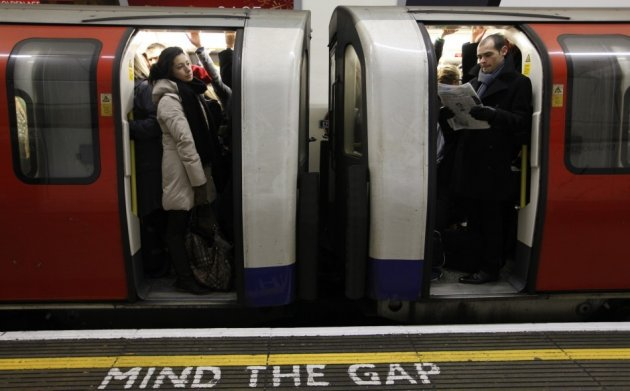 London Underground: service affected by super storm
