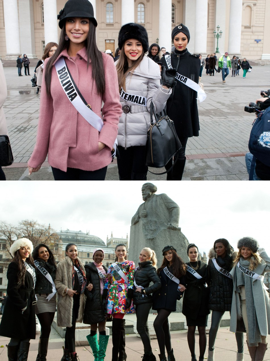 The contestants also visited the world-famous Bolshoi Theatre. (Photo: Miss Universe Organization L.P., LLLP)