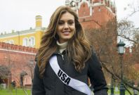 Erin Brady, Miss USA 2013, poses for a photo at the Kremlin on October 26, 2013. (Photo: MIss Universe Organization L.P., LLLP)