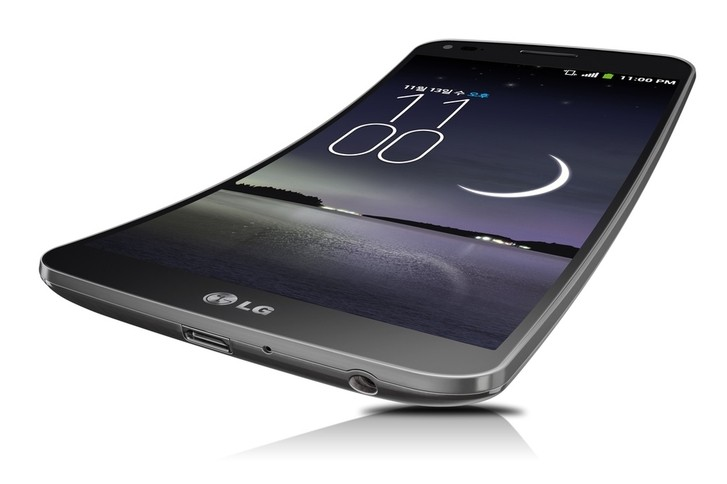 LG G Flex Smartphone First 'real' Curved Smartphone
