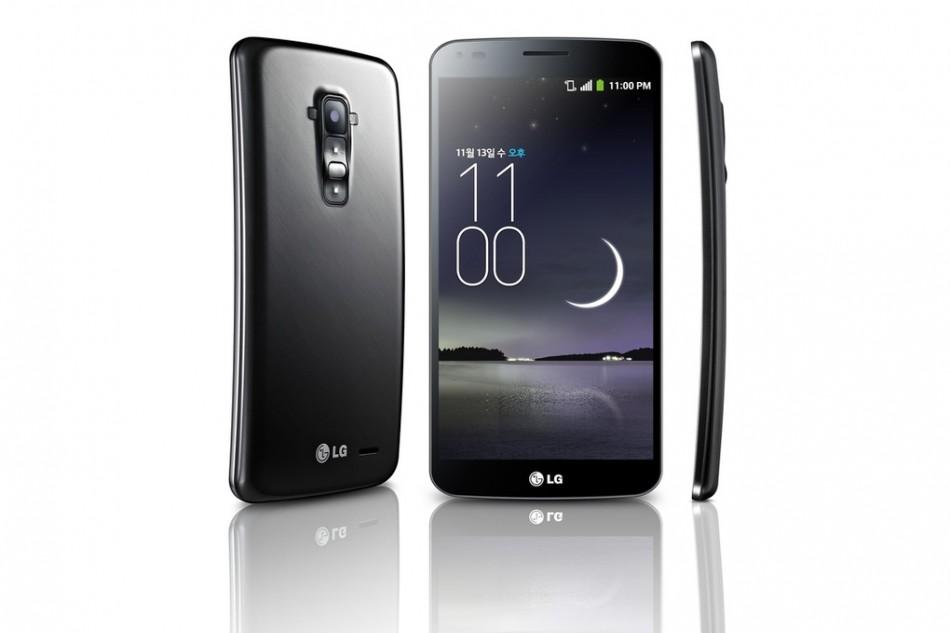 LG G Flex Curved Screen Smartphone