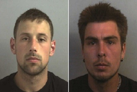 Stephen Norley (l) and Lee James killed Bijan Ebrahimi in Bristold PIC: Avon & Somerset police