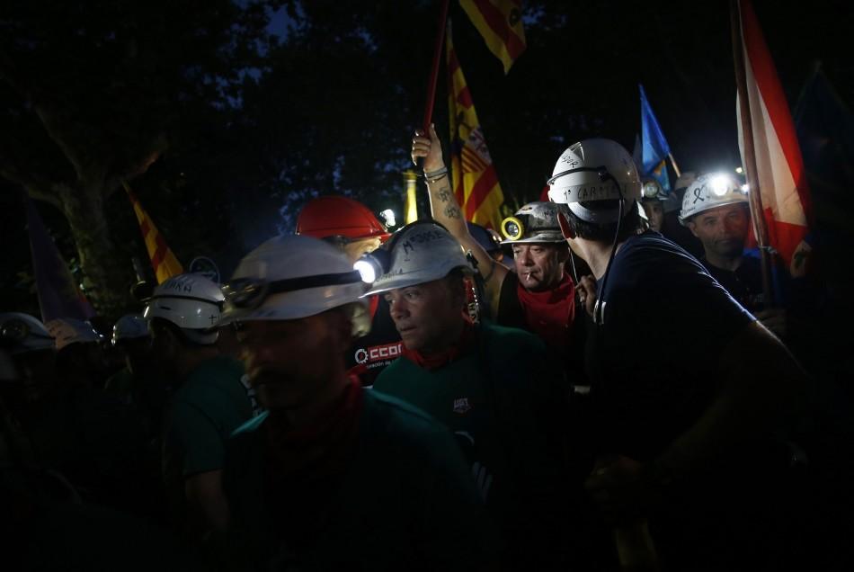 Spanish coal miners