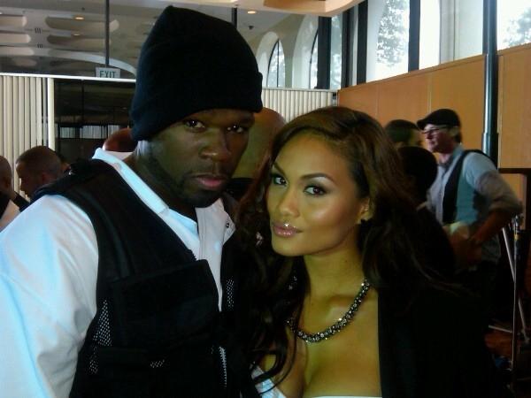 50 Cent and Daphne Joy