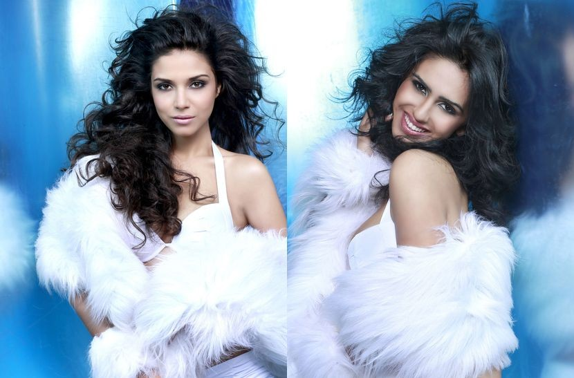 Miss Universe India (L) and Miss Universe Sri Lanka (Photo: Fadil Berisha/Miss Universe Organization)