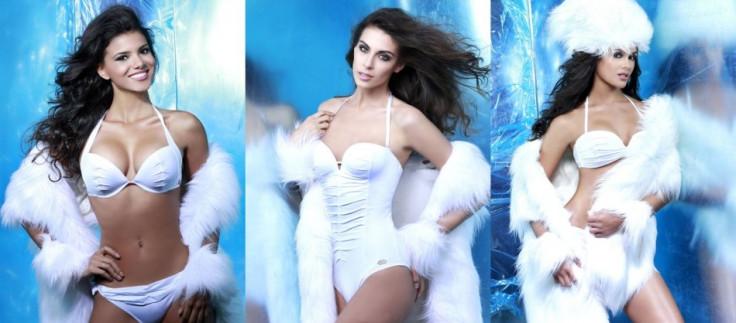 Left to Right: Misses Universe Brazil, Chile and Costa Rica (Photo: Fadil Berisha/Miss Universe Organization)