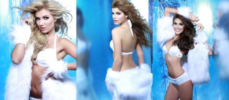 Left to Right: Misses Universe Belgium, Serbia and Venezuela (Photo: Fadil Berisha/Miss Universe Organization)