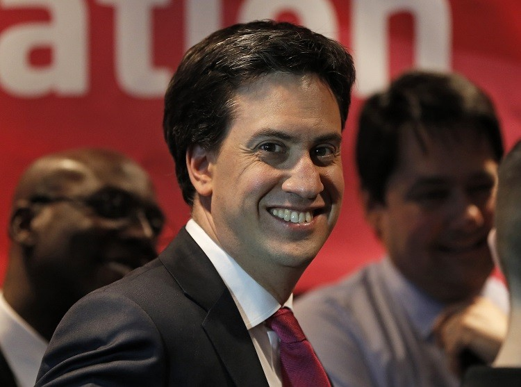 Britain's opposition leader Ed Miliband has pledged to freeze energy prices until 2017 if the Labour Party wins the general election in two years. (Photo: Reuters)