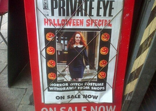 Private Eye cover too hot for Old Bailey trial