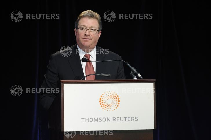 Thomson Reuters chief executive Jim Smith